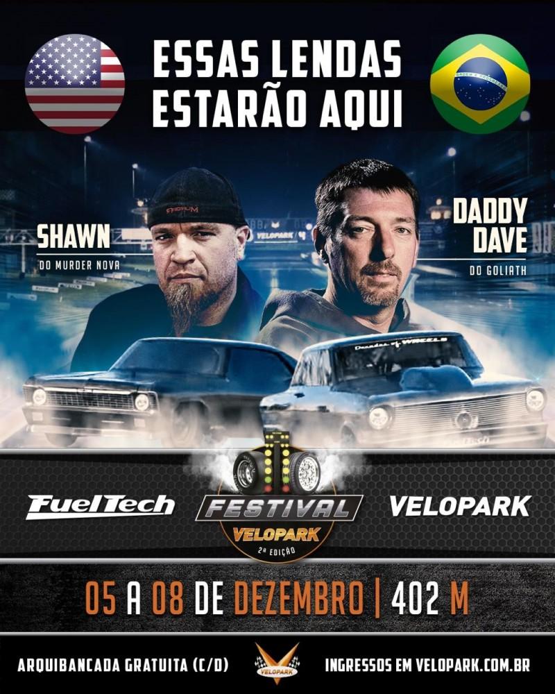 Murder Nova e Daddy Dave no Brasil!