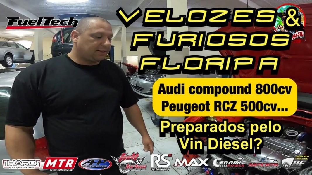Achei a oficina do Vin Diesel (Toretto) do Velozes & Furiosos em Floripa!