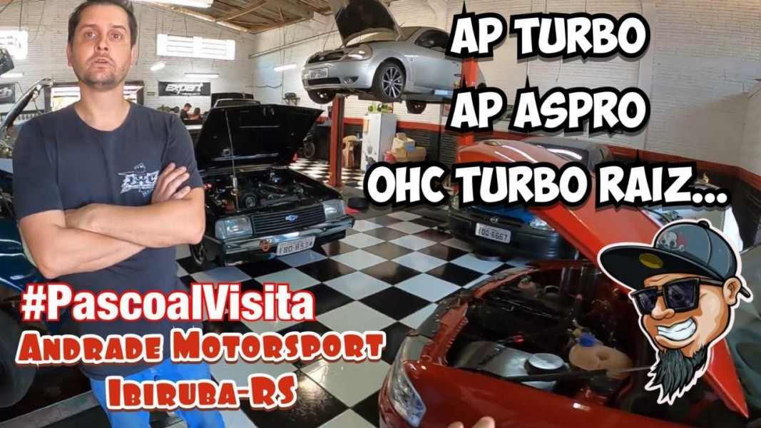 Chevette OHC, Gol Aspirado, Gol Turbo.... #Pascoalvisita Andrade Motorsport